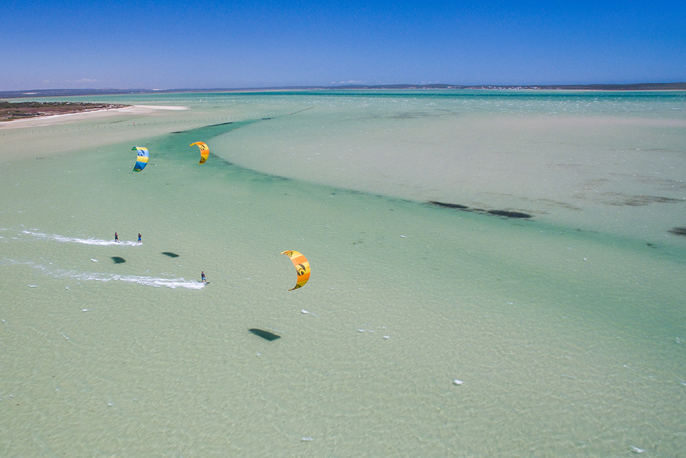 Big Bay Kitesurfing Lessons Cape Town Langebaan Kite