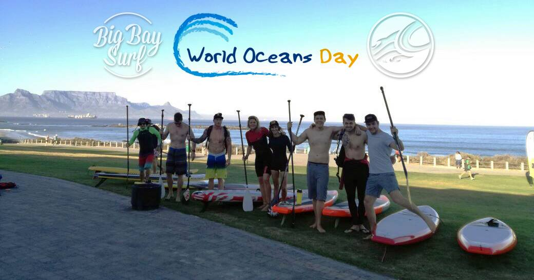 SUP Mission for World Ocean Day
